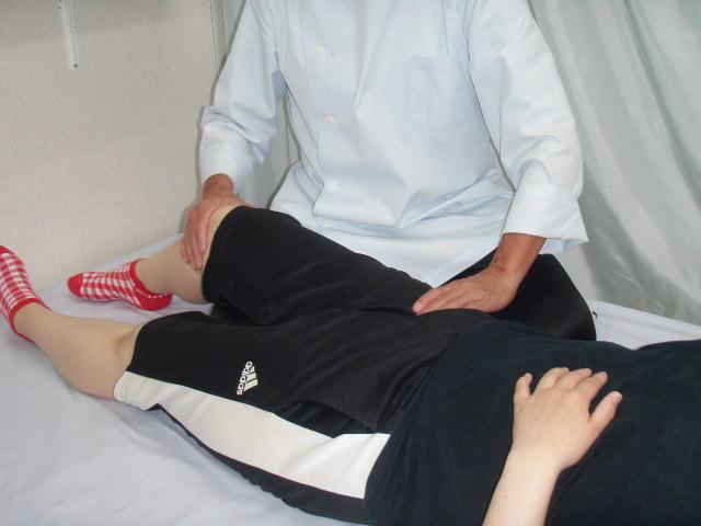ぎっくり腰|足の付け根痛